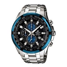 c37eb97e87d Relógio Casio Edifice Ef 539d 2av Mostrador Azul - Relógios De Pulso ...