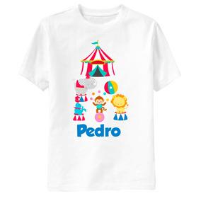 Camisa Infantil - 1 Ano Personalizada Qualquer Tema! Circo
