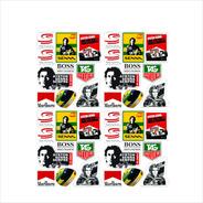 Varios Adesivos Ayrton Senna