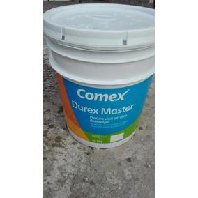 Pintura Comex Vinil-acrilica, 19 Litros, Color Blanco