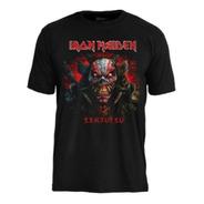 Camiseta Iron Maiden Senjutsu Back Cover Death Snake