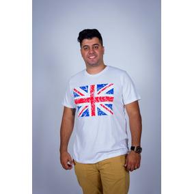 Camiseta Estampada Bandeira Da Inglaterra