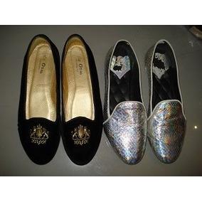 Zapato Plateado Brian Atwood , Zara, Mk,burberry, Tous