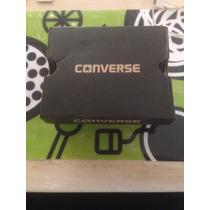 Zapatos Converse Para Niños T 2 Color Negro Unisex Nuevos