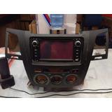Radio Toyota Hilux Yaris Prado Con Gps Terminacion Original