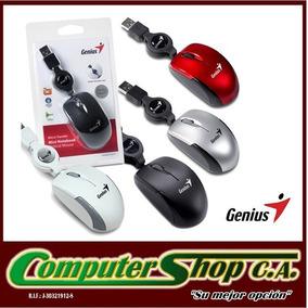 Mouse Para Laptop / Genius / Mini Notebook / Cable Retráctil