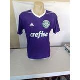 Camisa Do Palmeiras Roxa (personalizada)
