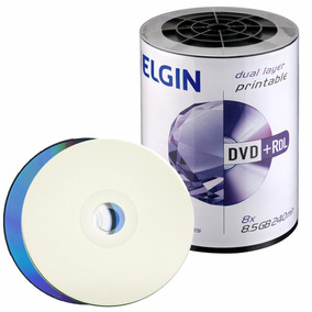 10 Dvd+r Dl Dual Layer 8.5 Gb Elgin Umedisc Xbox Xgd3