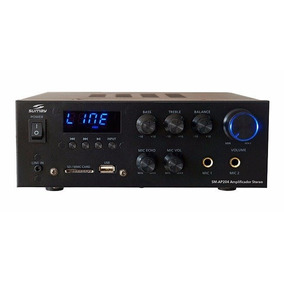 Amplificador Stereo 330w Usb Fm Bluetooth Som Ambiente Sumay