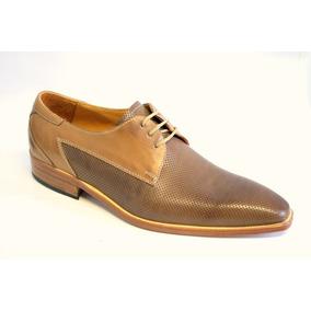 Zapatos De Vestir Cuero Picados Ragazzi 7597 Suela
