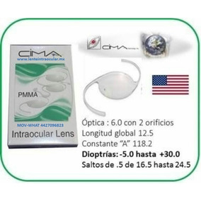 Lentes Intraoculares Para Imss-issste