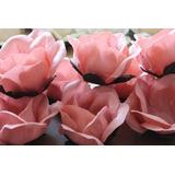 15 Forminhas De Tecido Para Doces Finos (rosa Grande)