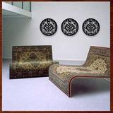 Trio Quadros Mandalas Mdf Escultura De Parede Vazada 50 Cm-.