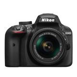 Camara Nikon D3400 Kit 18-55 +bolso De Regalo Xtratecnologia
