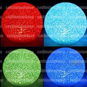 Esfera Vela Led Chica Ideal Centro De Mesa Cotillon Luminoso