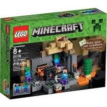 Lego Minecraft 21119 La Mazmorra!!! Entregas Metepec Toluca