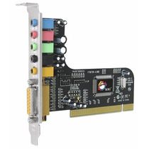 Placa De Som Pci-express 5.1 Canais Siig Soundwave