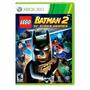 Lego Batman 2 Dc Super Heroes Xbox 360 Fisica + Nota Fiscal