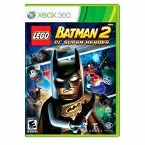 Lego Batman 2 Dc Super Heroes Xbox 360 Lacrado + Brinde