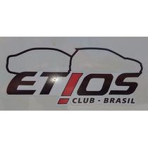 Adesivo Oficial Do Etios Club Brasil