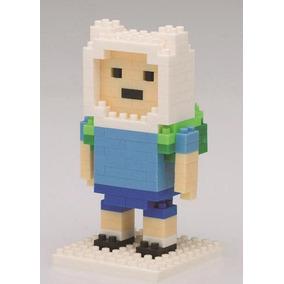 Boneco Finn Hora Da Aventura Blocos De Montar Adventure Time