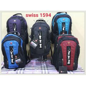 Mochila Back Pack Swiss Gear Escolar Campismo Viaje Laptop