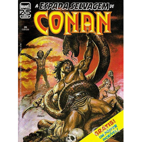 Espada Selvagem De Conan, An° 26, $10 Cada