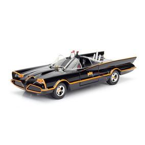 Miniatura Batmóvel Batman Classic Tv Series 1966 1:24 Jada