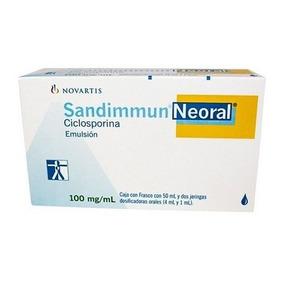 Sandimmun Neoral 100 Mg, Novartis (ciclosporina)