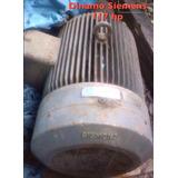 Motor Trifasico Siemens De 117hp Usado