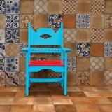 Piso Cerámico Tipo Mosaico Colonial 33x33 Cotto 1ra Scop