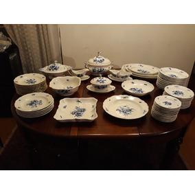 Maravilhoso Aparelho De Jantar Antigo Em Porcelana Meissen.