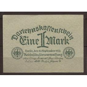 Alemania 1922 Billete De 1 Marcos Nuevo