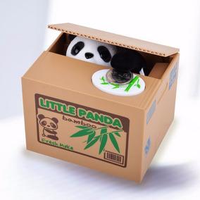 Alcancia Interactivaosito Panda Enseña Habito De Ahorrar