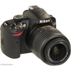 Câmera Digital Dslr Nikon D3200 24.2mp Lente Ef-s 18-55mm
