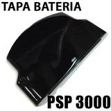 Tapa Bateria Pila Psp 3000 Slim Negra Negro Nueva 3010