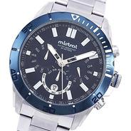 Reloj Hombre Mistral Cod: Chi-2053m-02 Taquímetro Sumergible