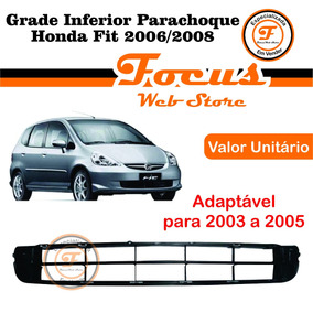 Grade Inferior Parachoque Honda Fit 2006 2007 2008