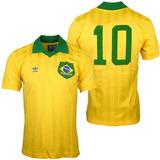 Camiseta adidas Brazuca Retro Brasil