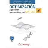 Optimización - Algoritmos Programados Con Matlab