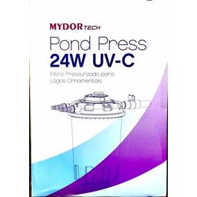 Filtro Mydor Tech Pond Press 8000 Uv24w Novo Com Nota Fiscal
