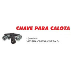 Chave Para Calota C/ Parafuso Vectra Omega Corsa Gl