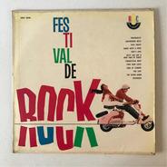 Lp Festival De Rock Década De 1960