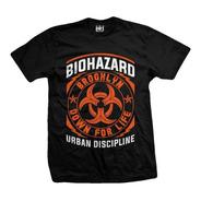Remera Biohazard  Down For Life
