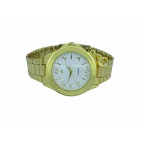 Lote 4 Relógios Analógico Dourado Com Pingente Ab-31
