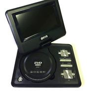 Dvd Portátil Tela De 7 Gira 270º Tv Digital Sd Usb Fm Jogos