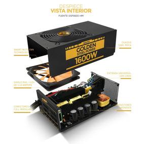 Fuente Sentey 1600w Gsp1600-hm 80 Plus Gold Modular 16 X Vga
