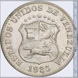 Moneda Venezolana 5 Centimos (1 Puya) De 1925