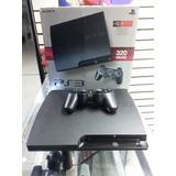 Playstation 3 Slim 320gb+ Juegos Digitales (tienda Física)