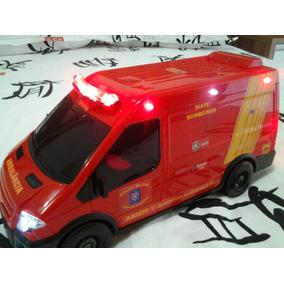 Ambulância Do Corpo De Bombeiros Do Paraná